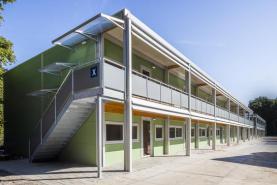 Emplacement Batiments résidentiels démontables - Logements provisoires - Structures modulaires