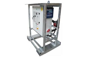 Emplacement Armoires électriques de contrôle, avec variateurs de fréquence