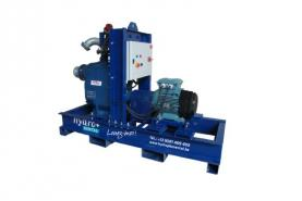 Emplacement Pompe auto-amorçante à moteur électrique GORMAN-RUPP V3B60-15KW