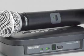 Emplacement Micro sans fil Shure PG 58 - Matériel de sonorisation