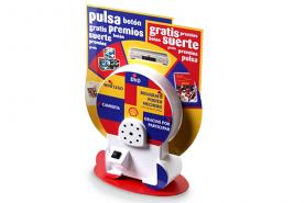 Emplacement Borne ludique mini roue- borne avec petite roue