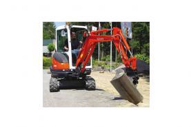 Emplacement Mini-pelle KUBOTA - Matériel de chantier - Manutention