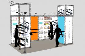 Locatie Stand Modul-X 10x10 cm - Een fantastisch modulair systeem voor uw salons, beurzen en tentoonstellingen…