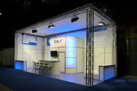 Emplacement Stands modulaires pour salons, construction pour événements professionnels...