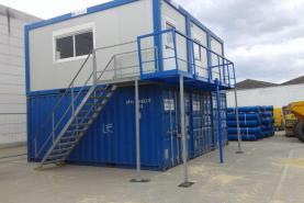 Emplacement Modules sanitaires et vestiaires - containers modulaires - modules pour chantiers, écoles et entreprises