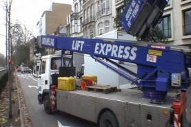 Emplacement Lift déménagement - Monte meuble - Nacelle