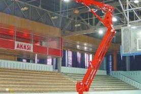 Emplacement Nacelles araignées TEUPEN - Élévation de personnel avec bras articulé pour travaux et chantiers en hauteur