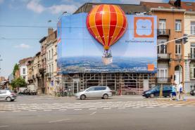 Emplacement Mongolfière - ballon gonflable - décors pour facade