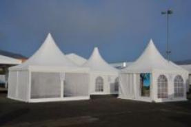 Emplacement Pagodes en location pour vos événements, foires, salons, réceptions...