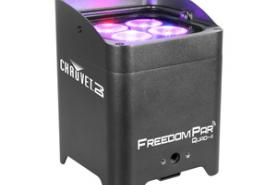 Emplacement Par led RGB sur batterie chauvet - Freedoom