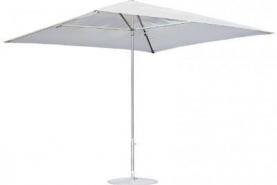 Emplacement Parasol carré blanc 3x3m - Mobilier extérieur - Protection solaire