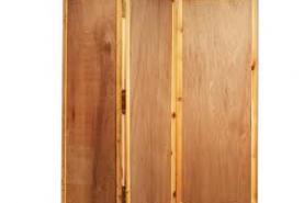 Emplacement Paravent en bois 3X (68x187cm) - Cloison - Séparation