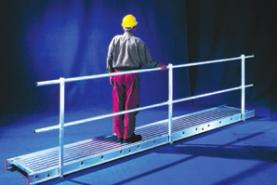 Emplacement Passerelle en aluminium (0,6 m de largeur)