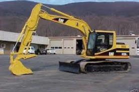 Emplacement Pelles sur chenilles - Machines de chantier - Excavatrice