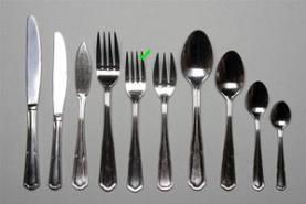 Emplacement Petite fourchette entremets – Eternum - Vaisselle - Matériel traiteur - Couvert