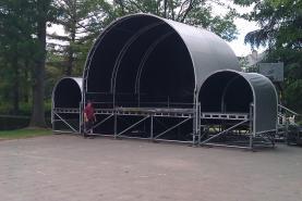 Emplacement Scène couverte pour concert 6m sur 6m (ou autres manifestations)