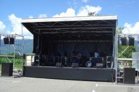 Emplacement Podiums - scènes - structures pour concerts, festivals, spectacles...