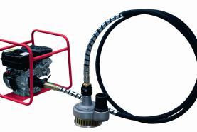 Emplacement Pompe centrif. à cable 70m3/h