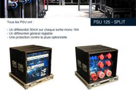 Emplacement Coffret électrique 125 A