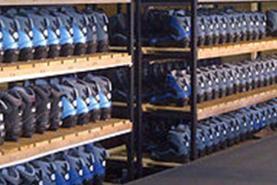 Emplacement Rack à patins - Stockage de patins - Patinoire