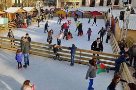 Emplacement Rambardes - Barrières - Pour patinoires
