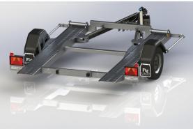Emplacement Remorque - Porte voiture - Secma F16