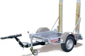 Emplacement Remorque avec charge utile maximum <500kg