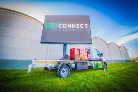 Emplacement Ecran géant LED mobile - 10m2 : véhicule publicitaire : écran géant