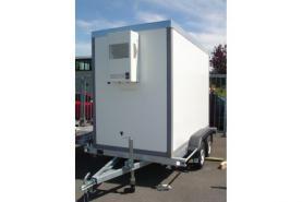Emplacement Remorque frigorifique - chambre froide - remorques frigorifiques