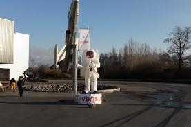 Emplacement Astronaute gonflable