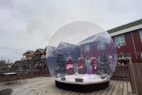 Emplacement Vitribulle gonflable de 4,8 m diamètre