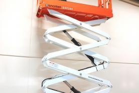Emplacement Nacelle ciseaux électrique S3226E