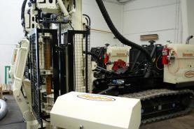 Emplacement Machine de sondage SONIC 8140LC GEOPROBE pour prélèvement, sondage et échantillonage de sol