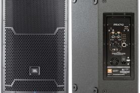 Emplacement 2 x Haut Parleur Actif JBL PRX712M + Pied - sonorisation enceinte