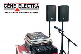 Emplacement Equipement audio - Micros et sonorisation pour conférence, concert, manifestation,...