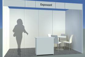 Emplacement Stand modulaire en location pour vos événements, foires, salons, réceptions...