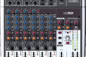 Emplacement Table de mixage Behringer Xenyx 1204 - Kit DJ - Matériel sonorisation