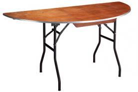 Emplacement Table demi-ronde ø150cm - Mobilier - Matériel traiteur