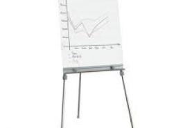Emplacement Tableau de conférence blanc - Matériel de présentation