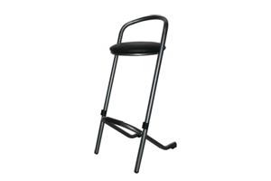 Emplacement Tabourets pour tables hautes noirs - chaises de bars - mobiliers pour vos événements, foires, salons...