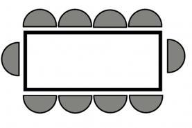 Emplacement Table modulaire, ronde ou carrée