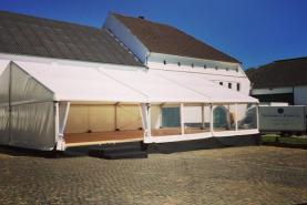 Emplacement Tente 10x15m – 150m² - Chapiteau - Pagode - Tonelle
