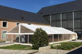 Emplacement Tente 10x20m – 200m² - Chapiteau - Pagode - Tonelle