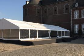Emplacement Tente 10x25m – 250m² - Chapiteau - Pagode - Tonelle