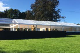 Emplacement Tente 10x30m – 300m² - Chapiteau - Pagode - Tonelle