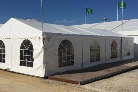Emplacement Tente de 6x12m – 72m² - Chapiteau - Pagode - Tonelle