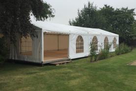Emplacement Tente de 6x15m – 90m² - Chapiteau - Pagode - Tonelle