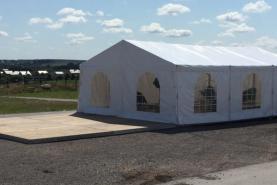 Emplacement Tente de 6x9m – 54m² - Chapiteau - Pagode - Tonelle
