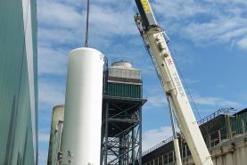 Emplacement Grue téléscopique pour manutention, levage, montage