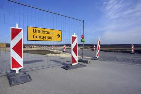 Emplacement Barrières de chantier type Heras - clôtures de protection